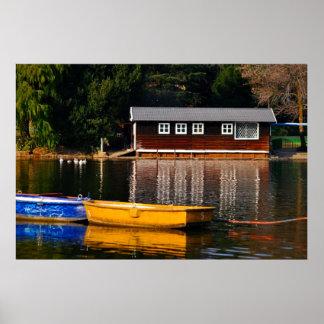 La casa barco póster