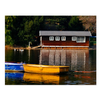 La casa barco tarjeta postal