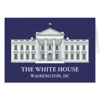 La Casa Blanca Notecards Tarjetón