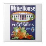 La Casa Blanca seleccionó verduras Azulejo