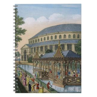 La casa china, el de la Rotonda y la compañía aden Note Book