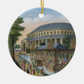La casa china, el de la Rotonda y la compañía Ornamentos De Navidad