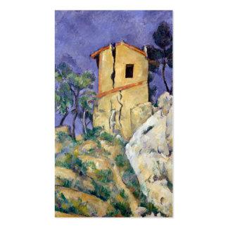 La casa con las paredes agrietadas - Paul Cézanne Tarjetas De Visita