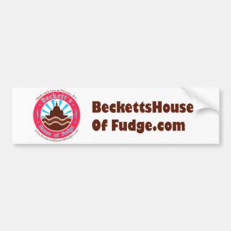 La casa de Beckett del pegatina de parachoques del Pegatina Para Coche