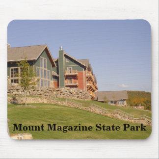 La casa de campo en el parque de estado de la mousepad