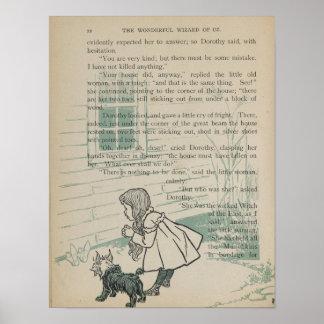 La casa de Dorothy mata a la bruja traviesa Posters