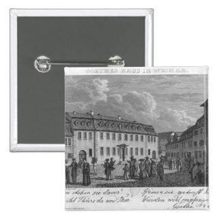 La casa de Johan Wolfgang von Goethe adentro Pin