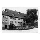 La casa de Johann Sebastian Bach Tarjeta De Felicitación