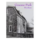 La casa de Keith en el parque de Graeme - 1989 Postal