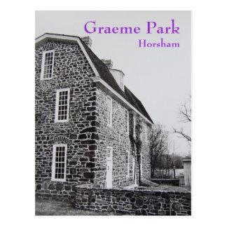 La casa de Keith en el parque de Graeme - 1989 Postales