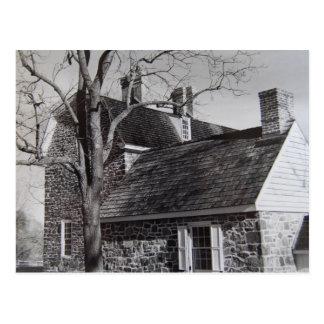 La casa de Keith y la cocina del verano - 1989 Tarjeta Postal