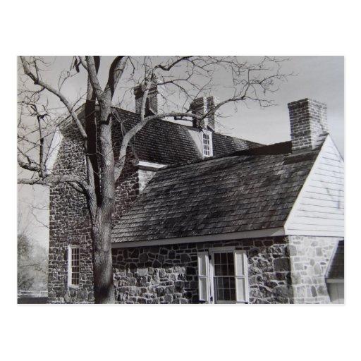 La casa de Keith y la cocina del verano - 1989 Tarjetas Postales