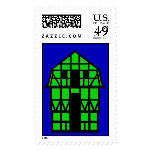 La casa de la buhardilla sello
