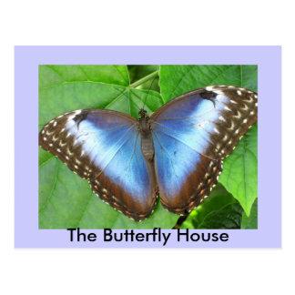 La casa de la mariposa postal