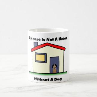 La casa de los amantes del perro no es una taza