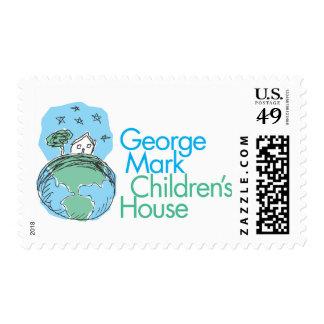 La casa de los niños de la marca de George Sellos