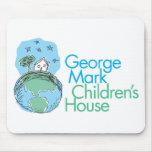 La casa de los niños de la marca de George Alfombrillas De Raton