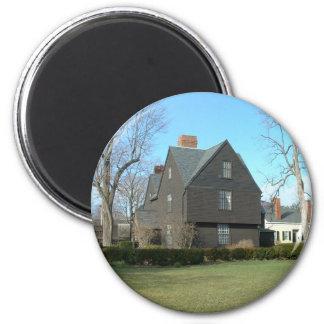 La casa de los siete aguilones imán redondo 5 cm