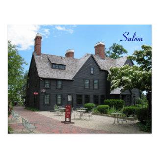 La casa de los siete aguilones postales