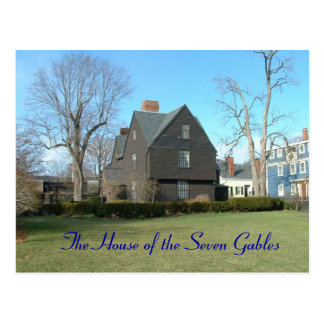La casa de los siete aguilones tarjeta postal