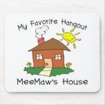 La casa de MeeMaw preferido de la lugar frecuentad Alfombrillas De Ratón