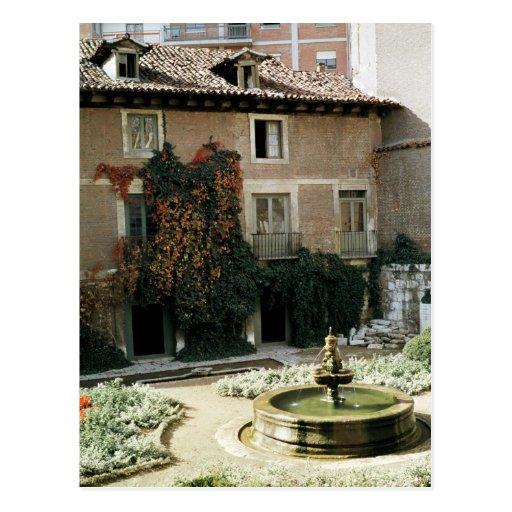 La casa de Miguel Cervantes Tarjeta Postal