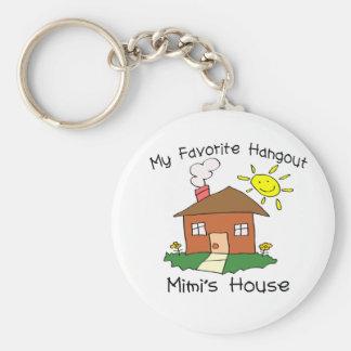 La casa de Mimi preferido de la lugar frecuentada Llavero