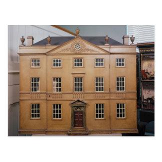 La casa de muñeca, estilo neoclásico de Adán, Tarjeta Postal