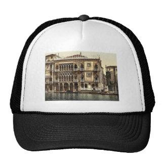 La casa de oro, vintage Photochrom de Venecia, Ita Gorros Bordados
