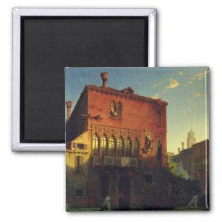 La casa de Othello, Moore en Venecia, 1856 Imán Cuadrado
