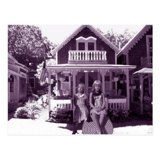 La casa de pan de jengibre postal