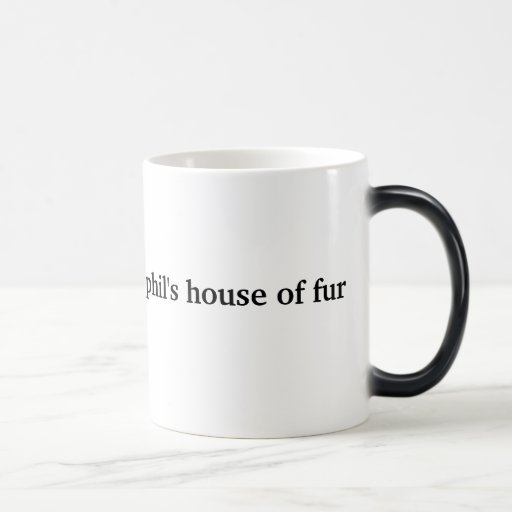 La casa de Phil de la taza morphing del calor de