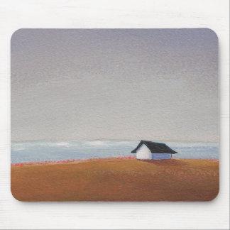 La casa de playa - arte bonito del paisaje de la p tapete de ratones
