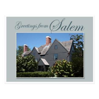 La casa de siete aguilones tarjetas postales