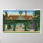 La casa de verano de Mark Twain, granja de la mina Poster