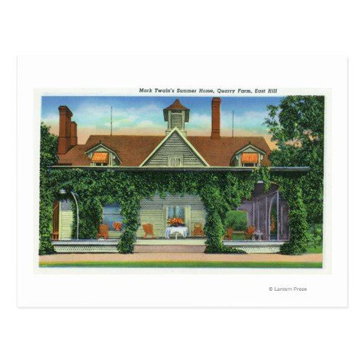 La casa de verano de Mark Twain, granja de la mina Postal