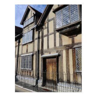 La casa de William Shakespeare, Stratford sobre Postal