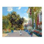 La casa del artista de Claude Monet Postal