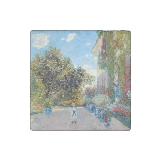 La casa del artista en Argenteuil de Claude Monet Imán De Piedra