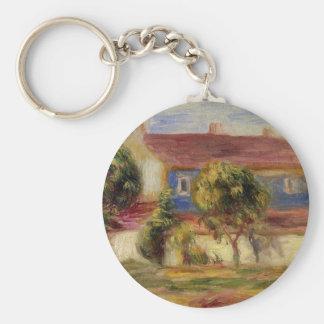 La casa del artista s de Pierre-Auguste Renoir Llavero Redondo Tipo Pin