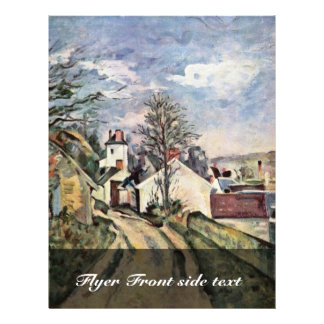 La casa del Dr. Gachet By Paul Cézanne Tarjeta Publicitaria