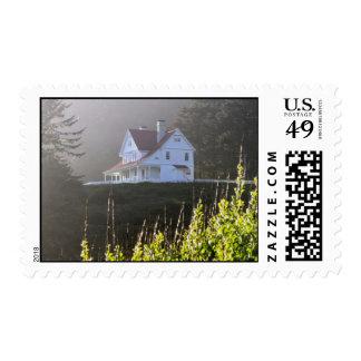 La casa del encargado principal de Heceta Sellos Postales