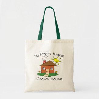 La casa del gramo preferido de la lugar frecuentad bolsa tela barata
