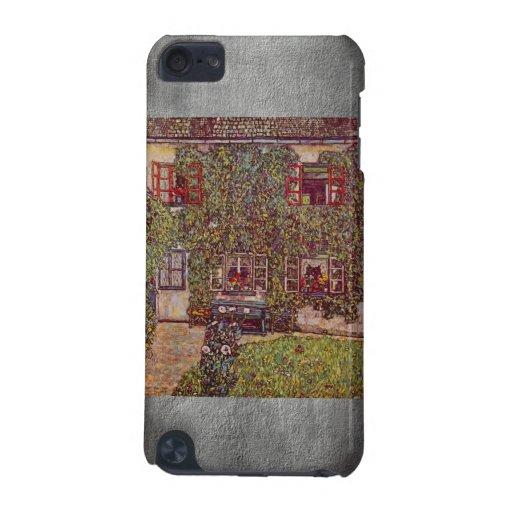 La casa del guardia de Gustavo Klimt Funda Para iPod Touch 5G
