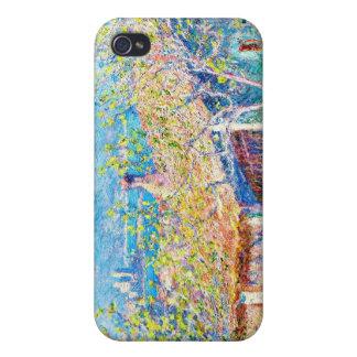 La casa del jardinero en Antibes Claude Monet iPhone 4 Carcasa