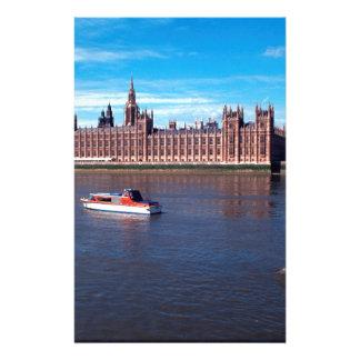 la casa del parlamento, Londres, Inglaterra Papeleria De Diseño