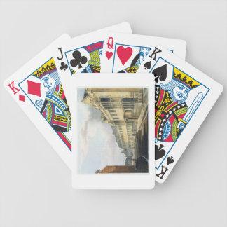"""La casa del primer amo, escuela de grada, de la """"h cartas de juego"""