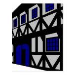 La casa del renacimiento - gris postales