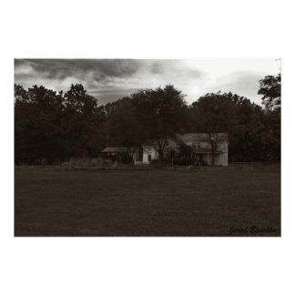 La casa en las maderas fotografía