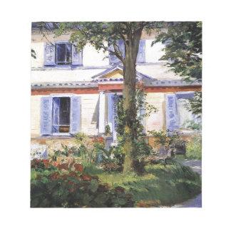 La casa en Rueil de Eduardo Manet Blocs